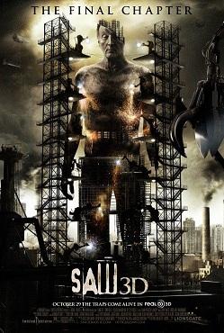 《电锯惊魂7》海报